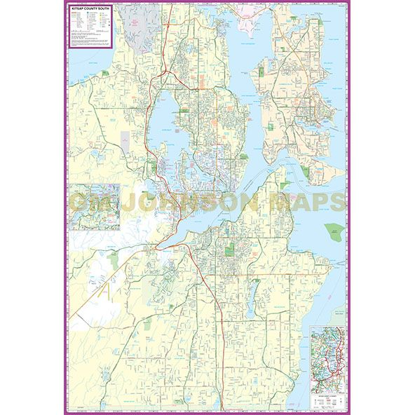 Wa Kitsap Zip Code Map County