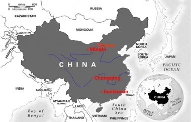 China Map all