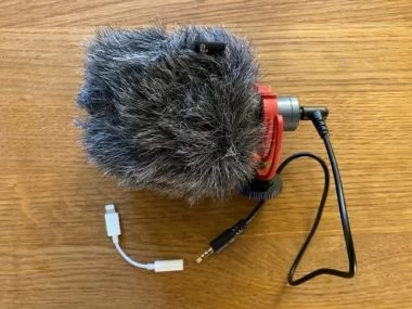 Filming Kit Microphone rotated e1589569308384