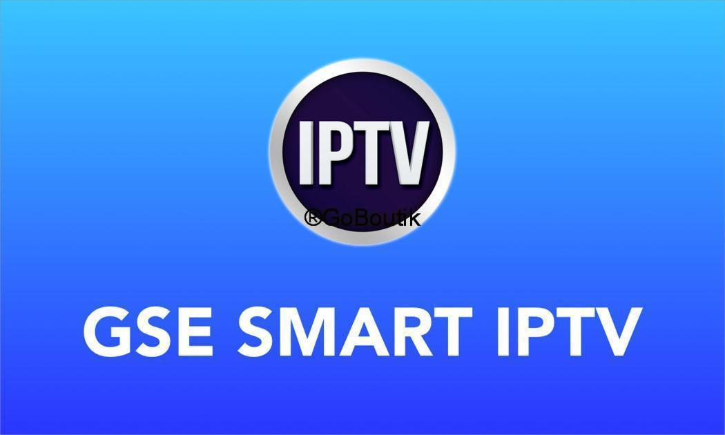 abonnement iptv premium GSE SMART IPTV