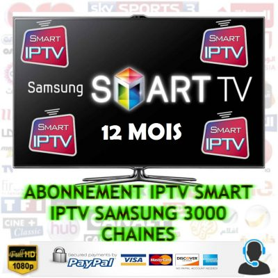 abonnement iptv samsung smart tv