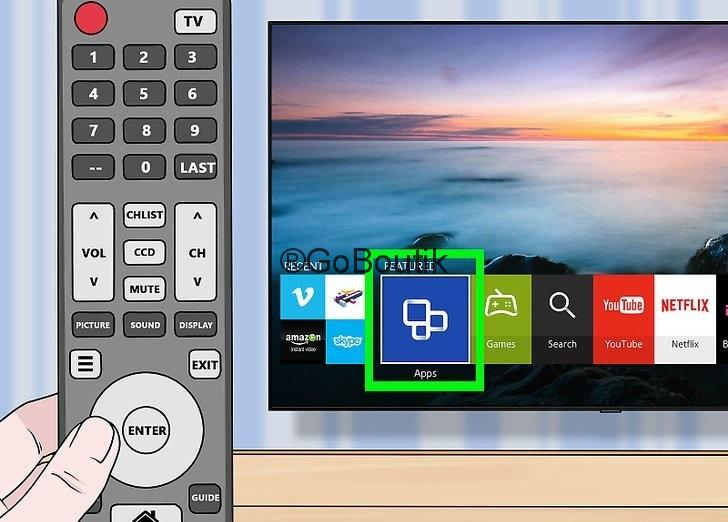 comment installer application samsung smart tv