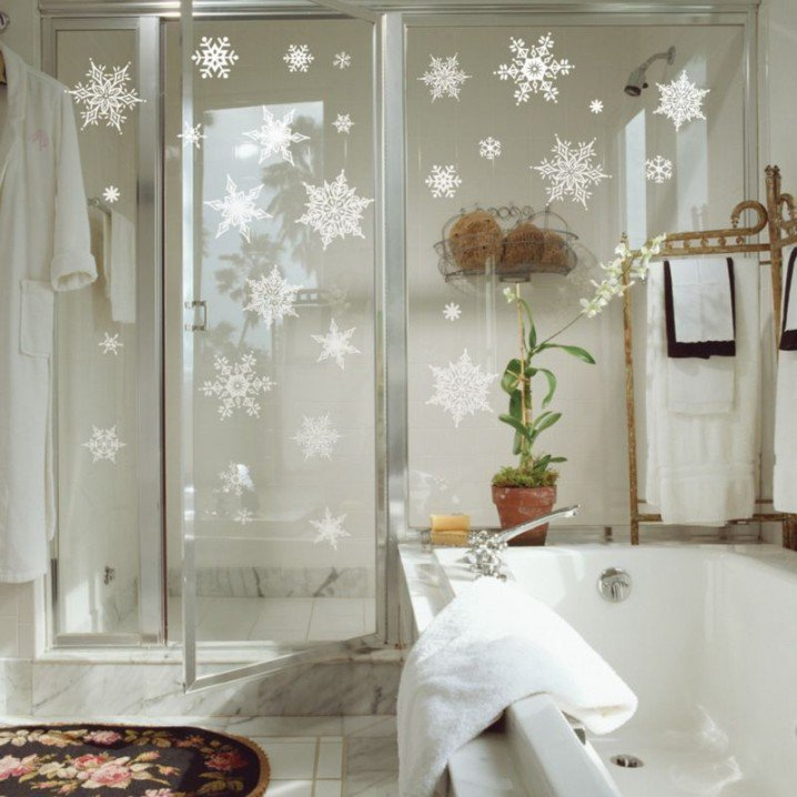 Bathroom Xmas Decor