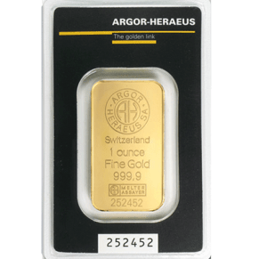 1oz Gold Bar