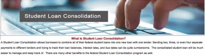 How Does a Student Loan Consolidation Program Work?