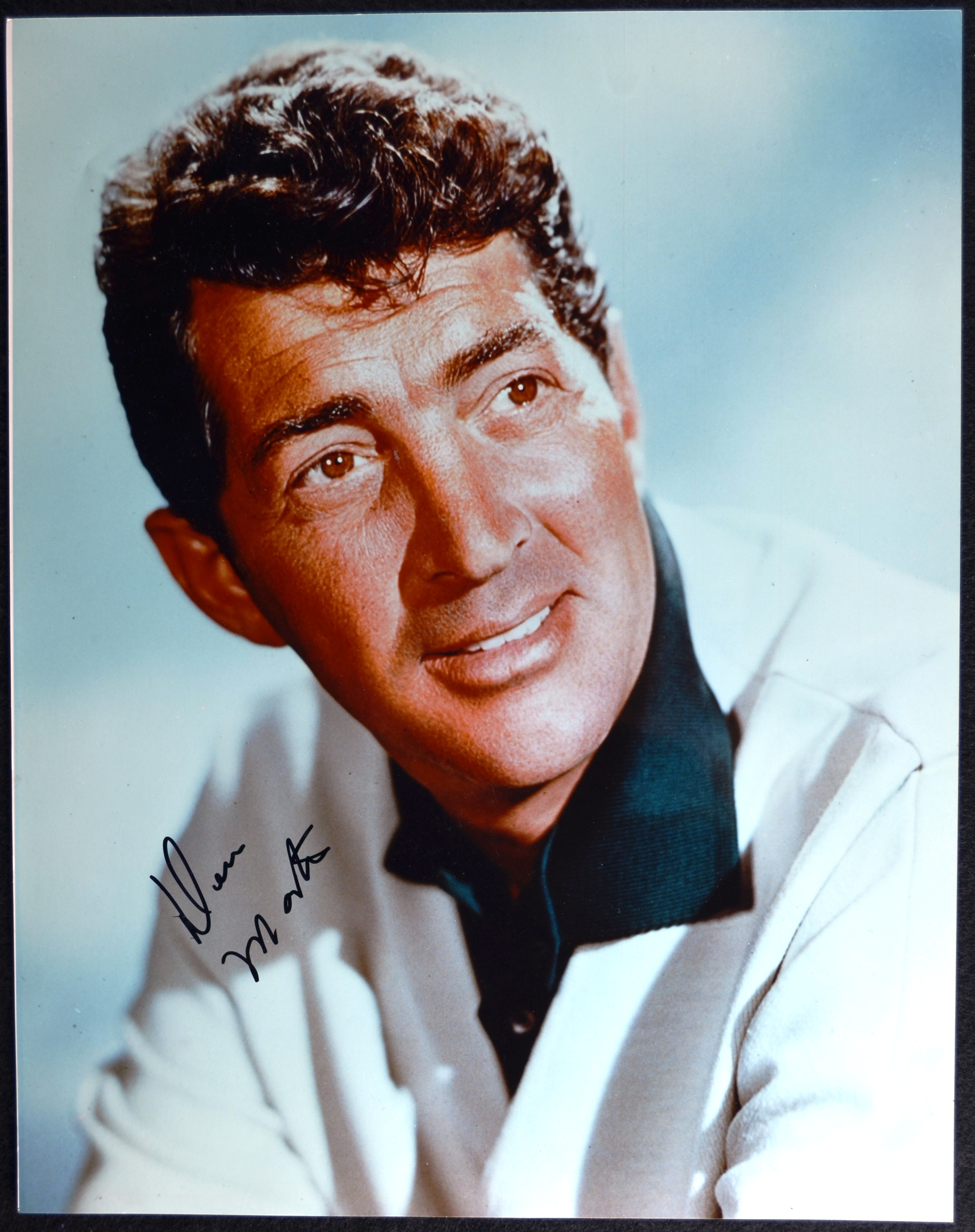 Lot Detail - Gorgeous 11x14 Dean Martin Photo with perfect ...