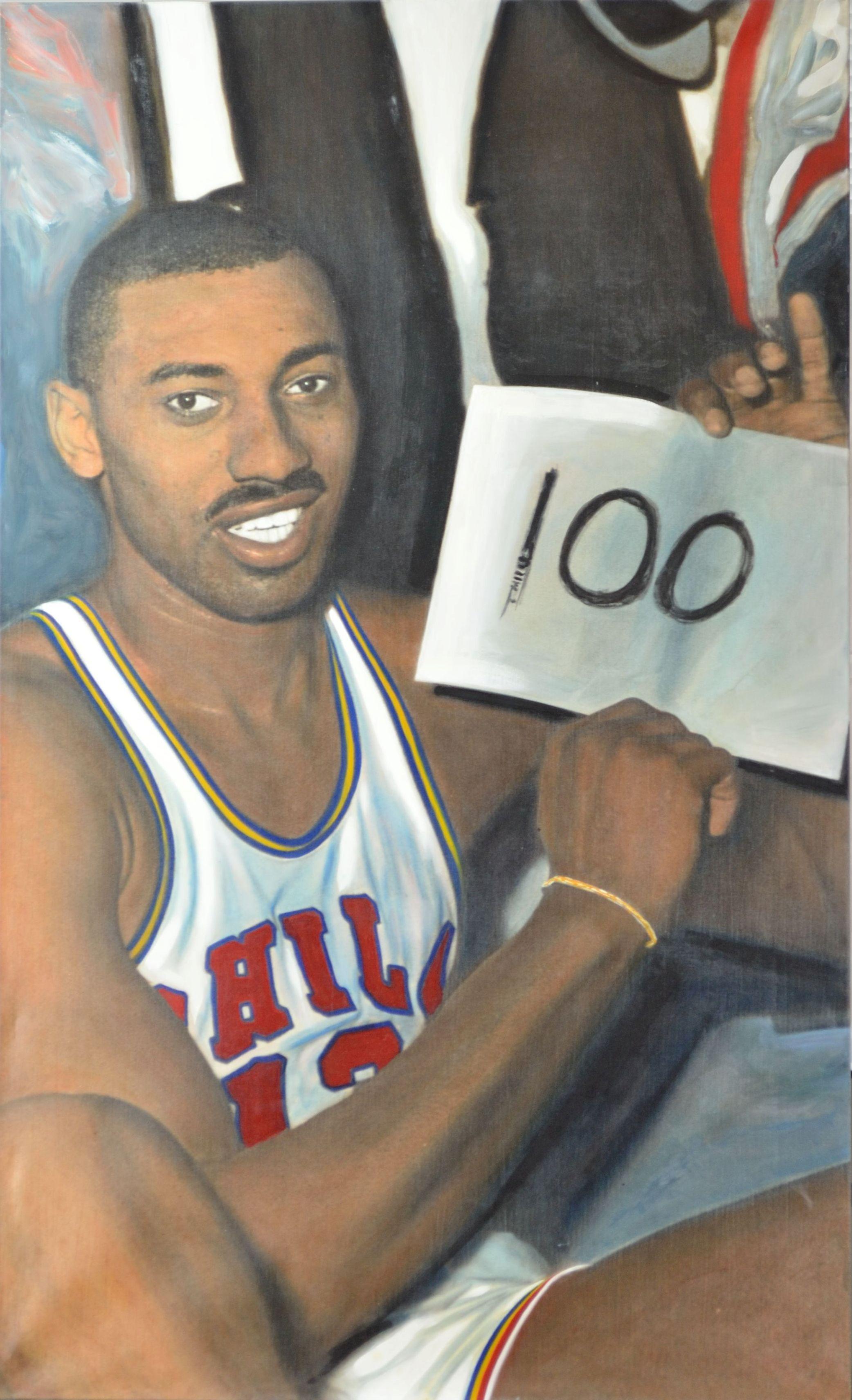 Lot Detail - Wilt Chamberlain 100th Point Game Jeffrey ...