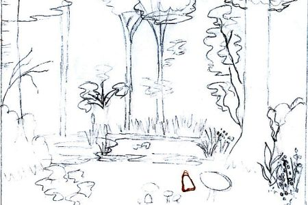 Drawing Joy Being Creative One Of Johanna Basford S Line Drawings From Her Enchanted Forest Book Amazon Com An Inky Quest Coloring