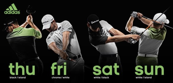 Adidas Golf 2013 Masters Apparel Script  Making One for the Team         with the team uniform concept  see Ryder Cup and President Cup teams    but Adidas seems to have achieved the rare albatross in golf style   a good  looking