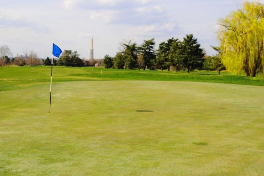 Blue at East Potomac Public Golf Course in Washington  District of     Blue at East Potomac Public Golf Course in Washington  District of  Columbia  USA   Golf Advisor