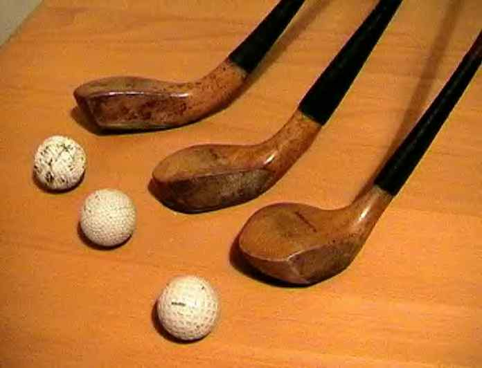 Old 200 Golf Year Clubs