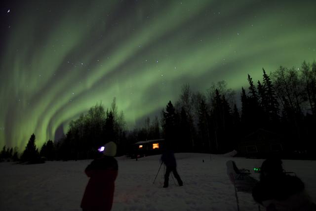 Best Place Watch Northern Lights Alaska