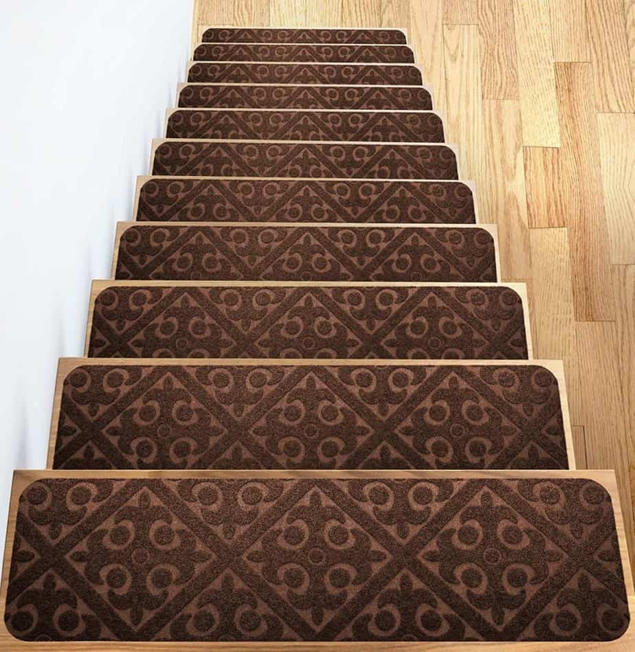 Add Different And Elegant Touch To Your House A Carpet Stair | Sticky Carpet For Stairs | Self Adhesive | Mat | Sticky Bottom | Flooring | Anti Slip