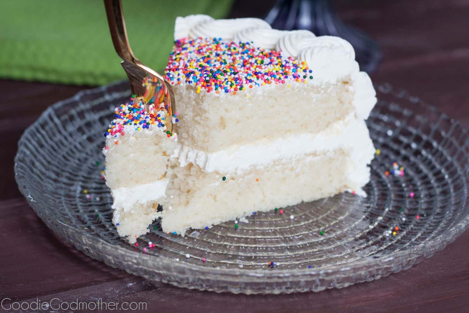 White Cake Recipe From Scratch Goodie Godmother A