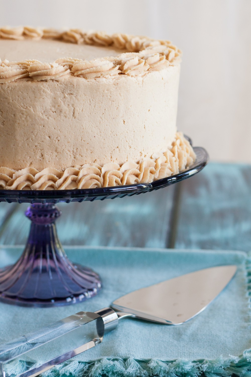Old Fashioned Peanut Butter Cake Goodie Godmother A