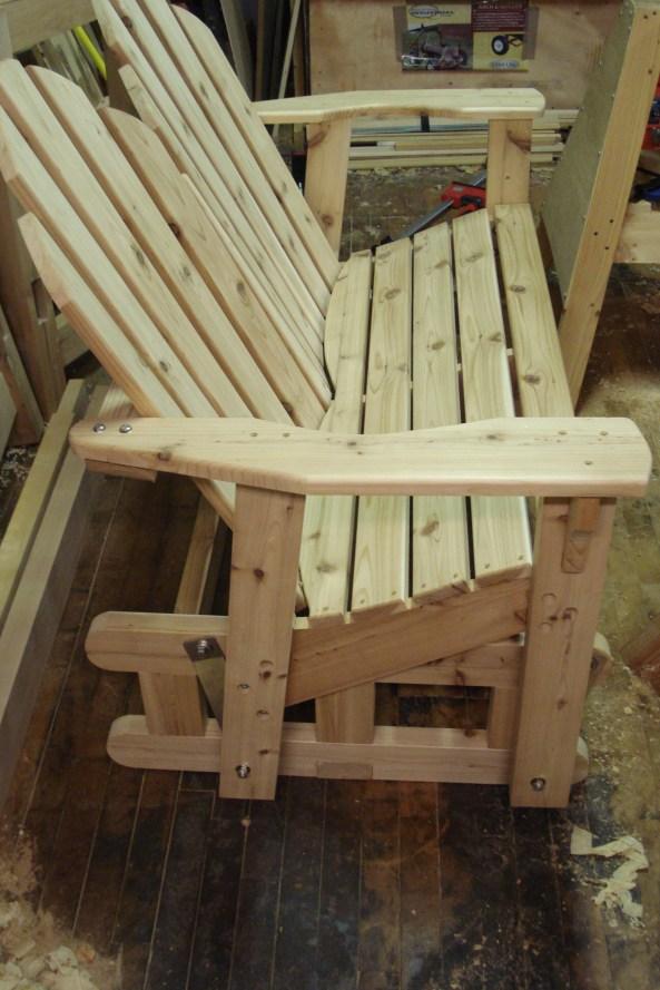 Diy Adirondack Bench Glider Plans Wooden Pdf Kayak Kits
