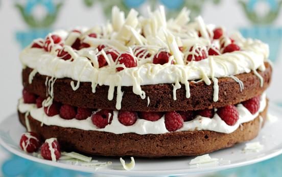Quick Chocolate Mousse Cake