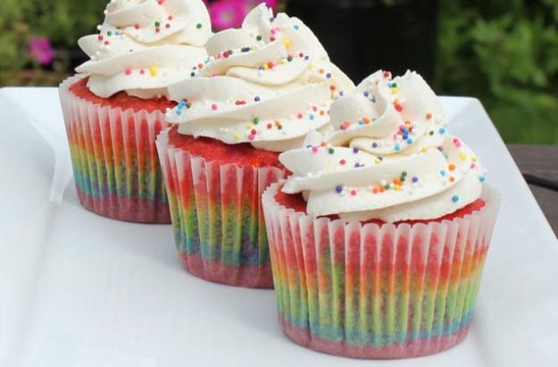 Rainbow Cupcakes Recipe Goodtoknow