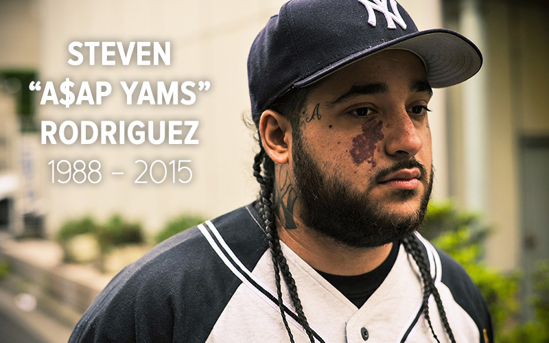 A$AP Yams, Founding Member of A$AP Mob, Dead at 26