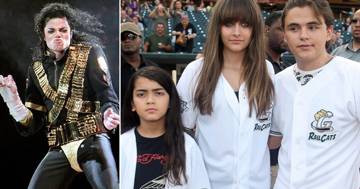 Michael Jackson's Children Privately Honor 10th ...