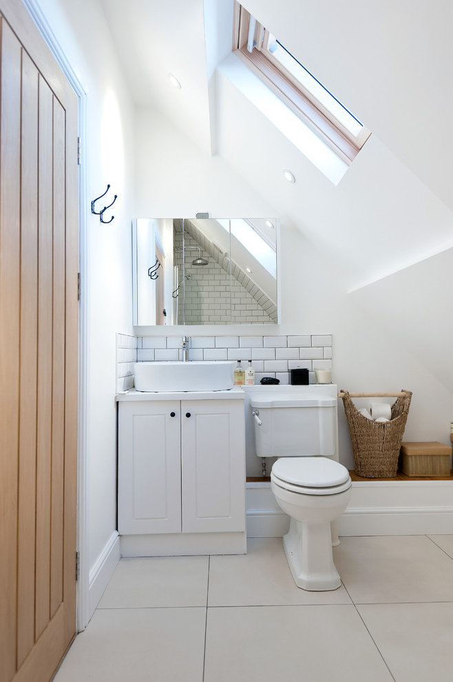 Best Small Attic Bathroom Design 7585 House Decoration