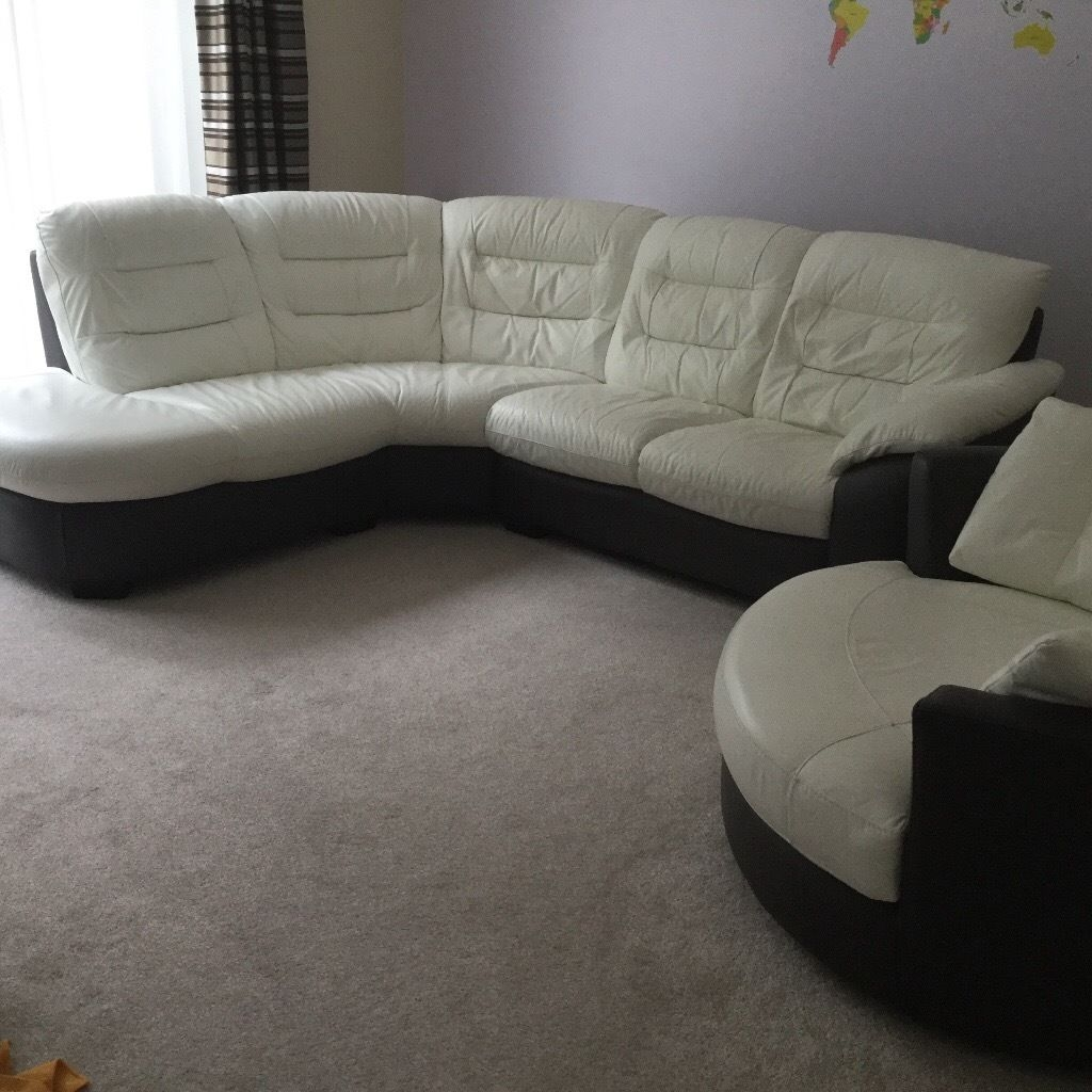 Dark Grey Sofa Set
