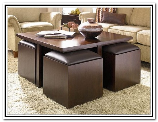 Stools Table Coffee Ottoman