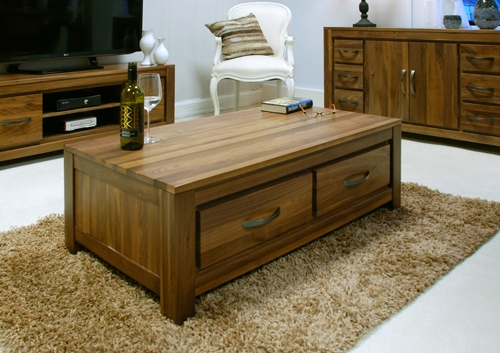 Low Coffee Table Drawers