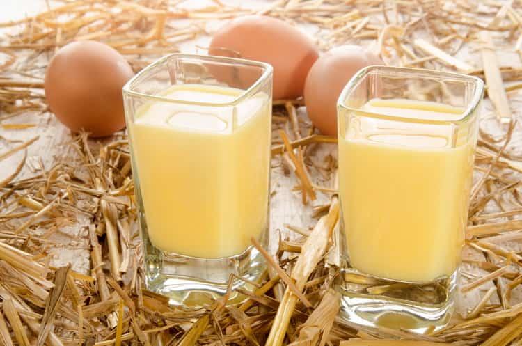Ricetta liquore all'uovo a casa