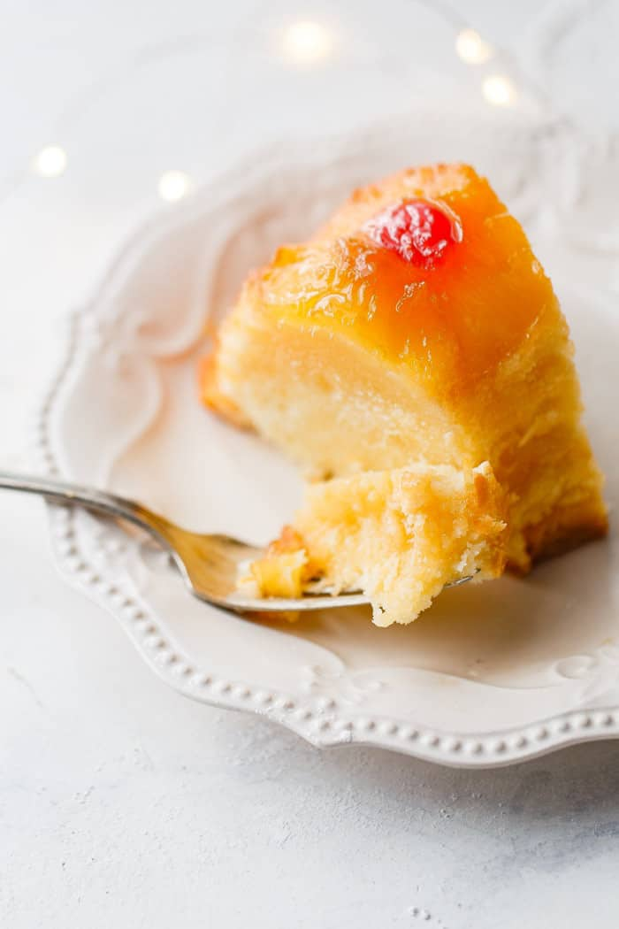 Pineapple And Down Cake