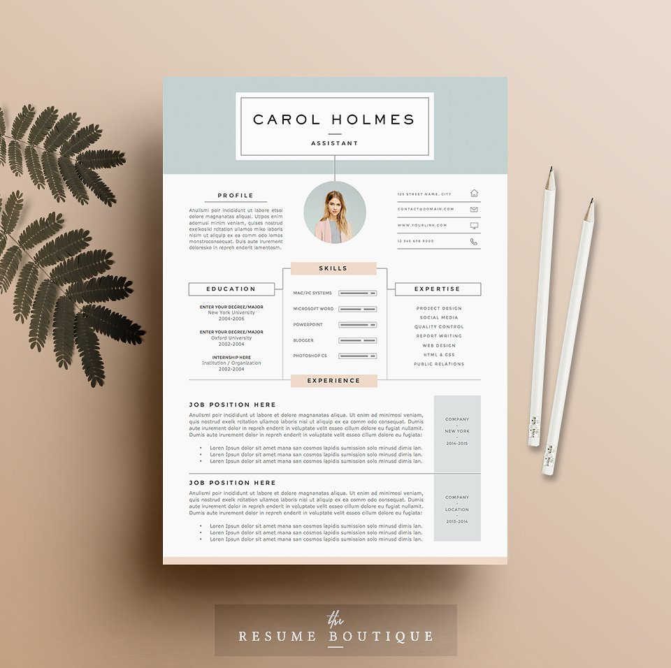 20 Free and Premium Best Resume Templates   Word  PSD  INDD resume template