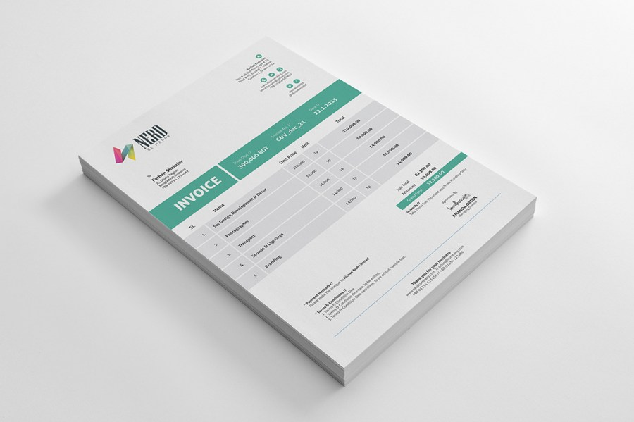 Invoice Template   Freebie
