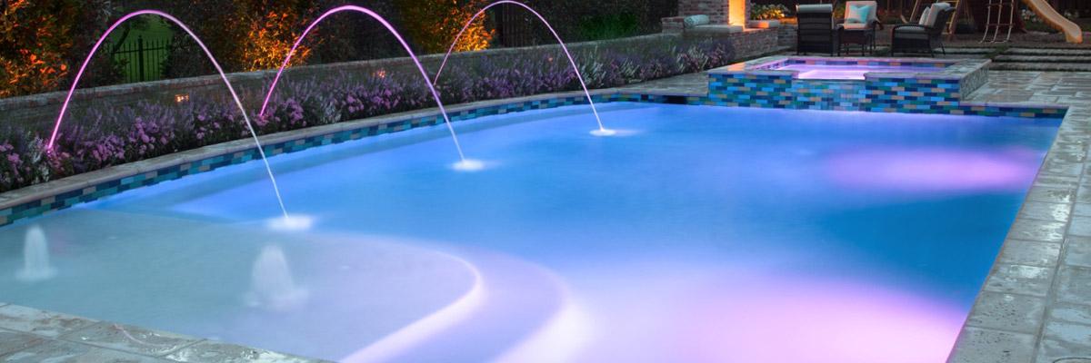Fiber Optic Pool Lighting