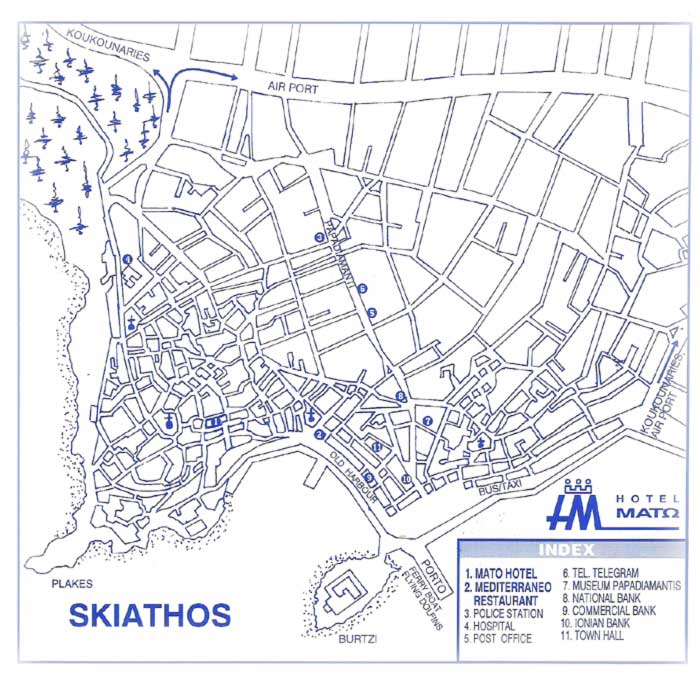 Full Image Wallpapers » map of skiathos town | HD Images