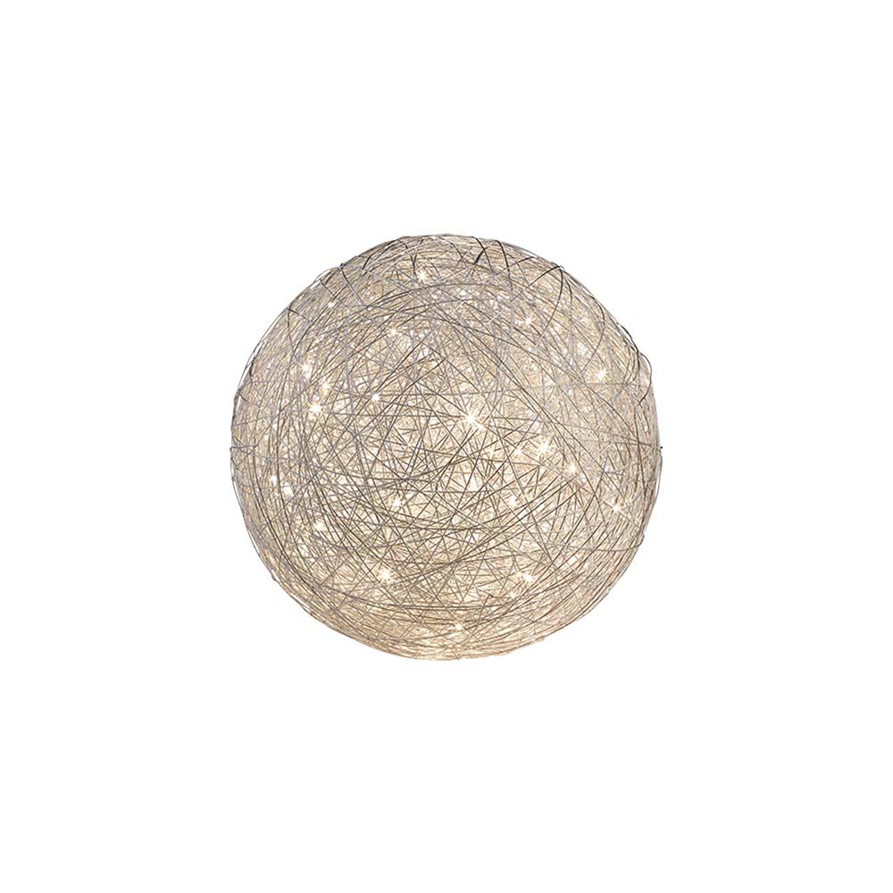 Thunder Small Round Mesh Table Lamp