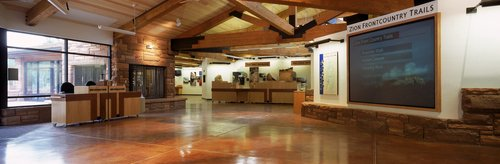 Zion National Park Visitor Center Efficient And Passive