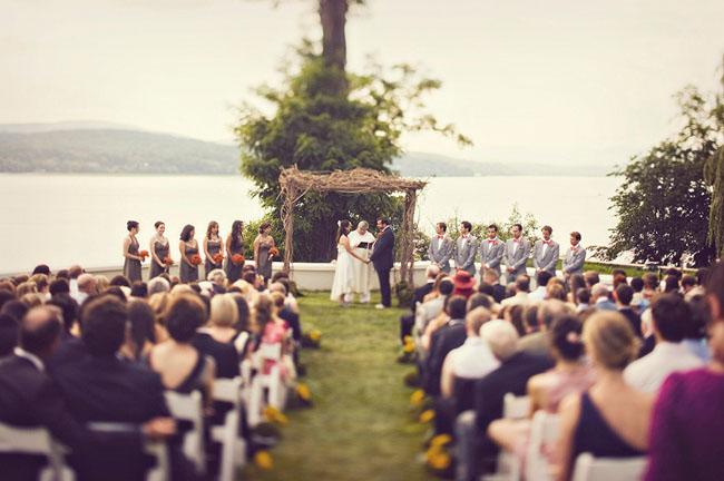 A Whimsical Fun Diy Wedding Alexis Evan Green