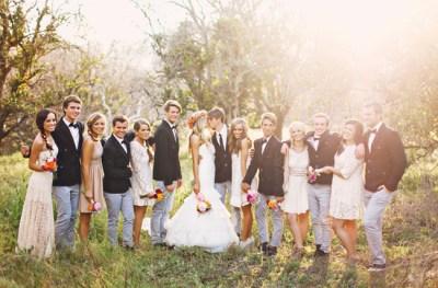 Handmade Boho Chic Wedding: Leah + Jakeh - Green Wedding Shoes