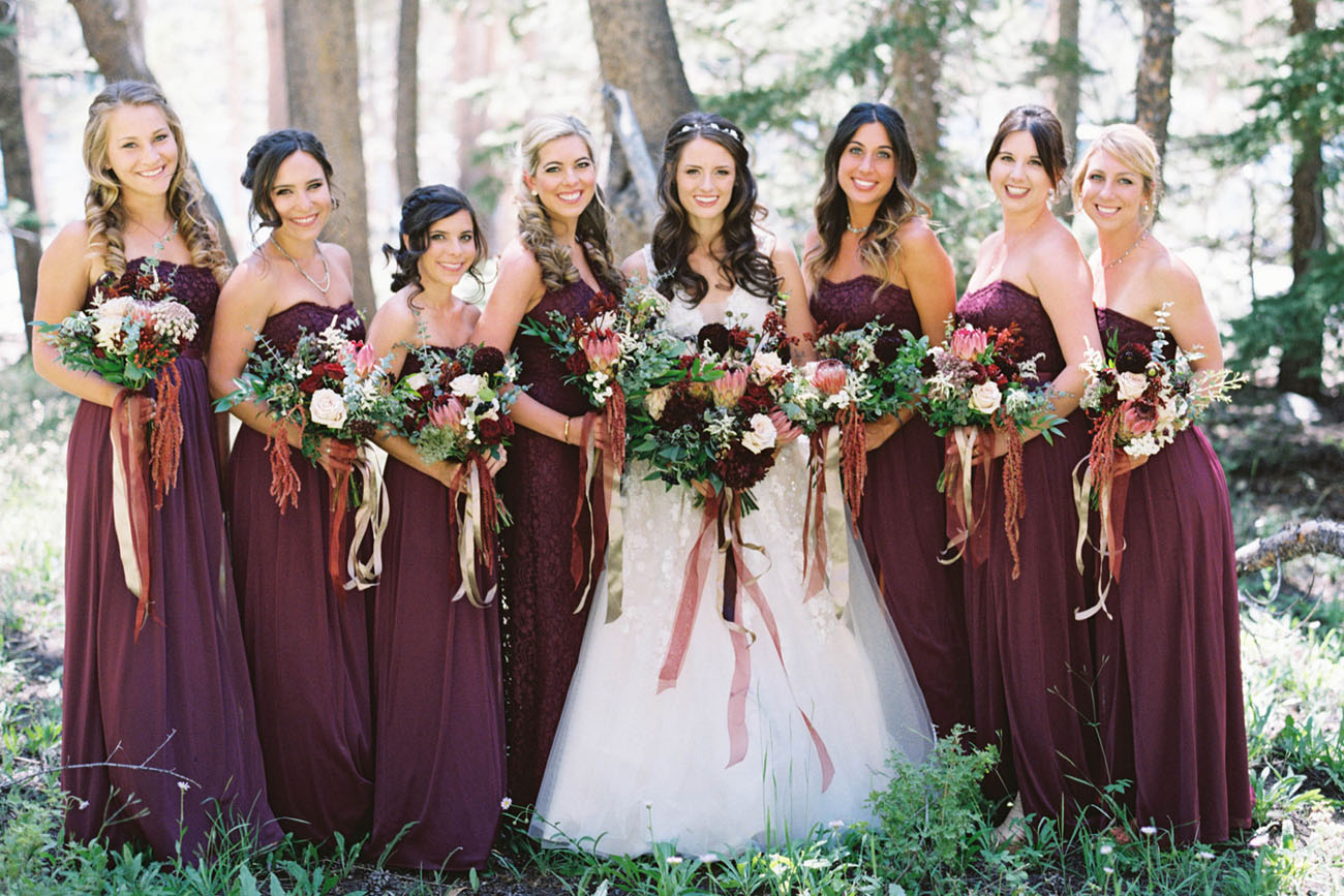 Fall Wedding Bridesmaid Dresses