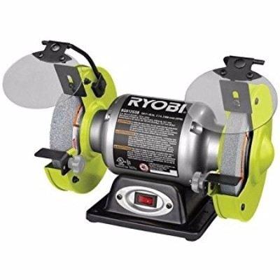 Ryobi Bg612gsb 6 Inch Bench Grinder Review Grinder Critic