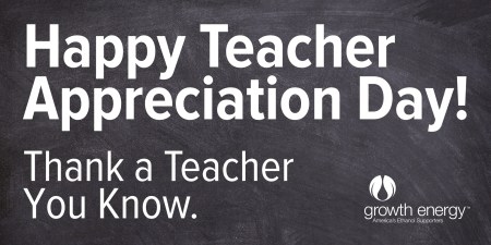 Thanking Our Educators On Teacher Appreciation Day – Growth Energy