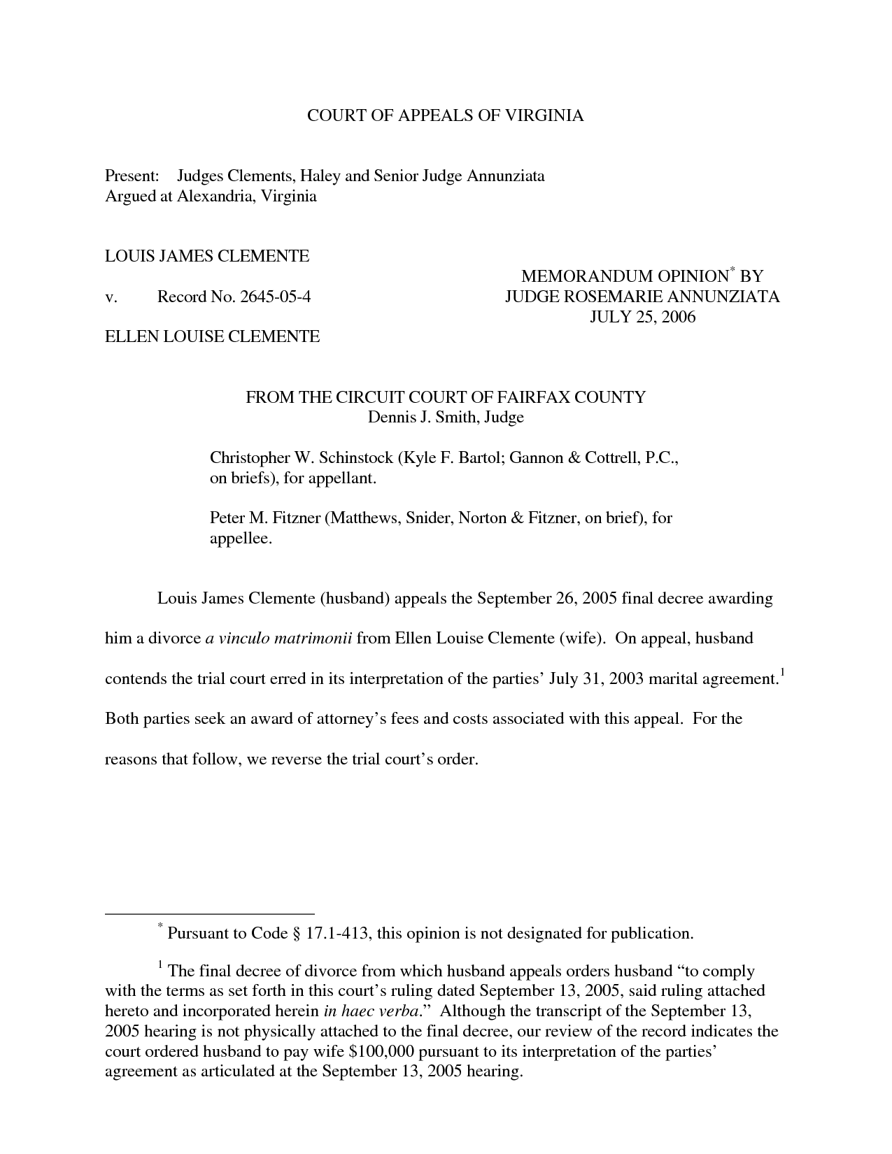 Uncontested Divorce Agreement Template