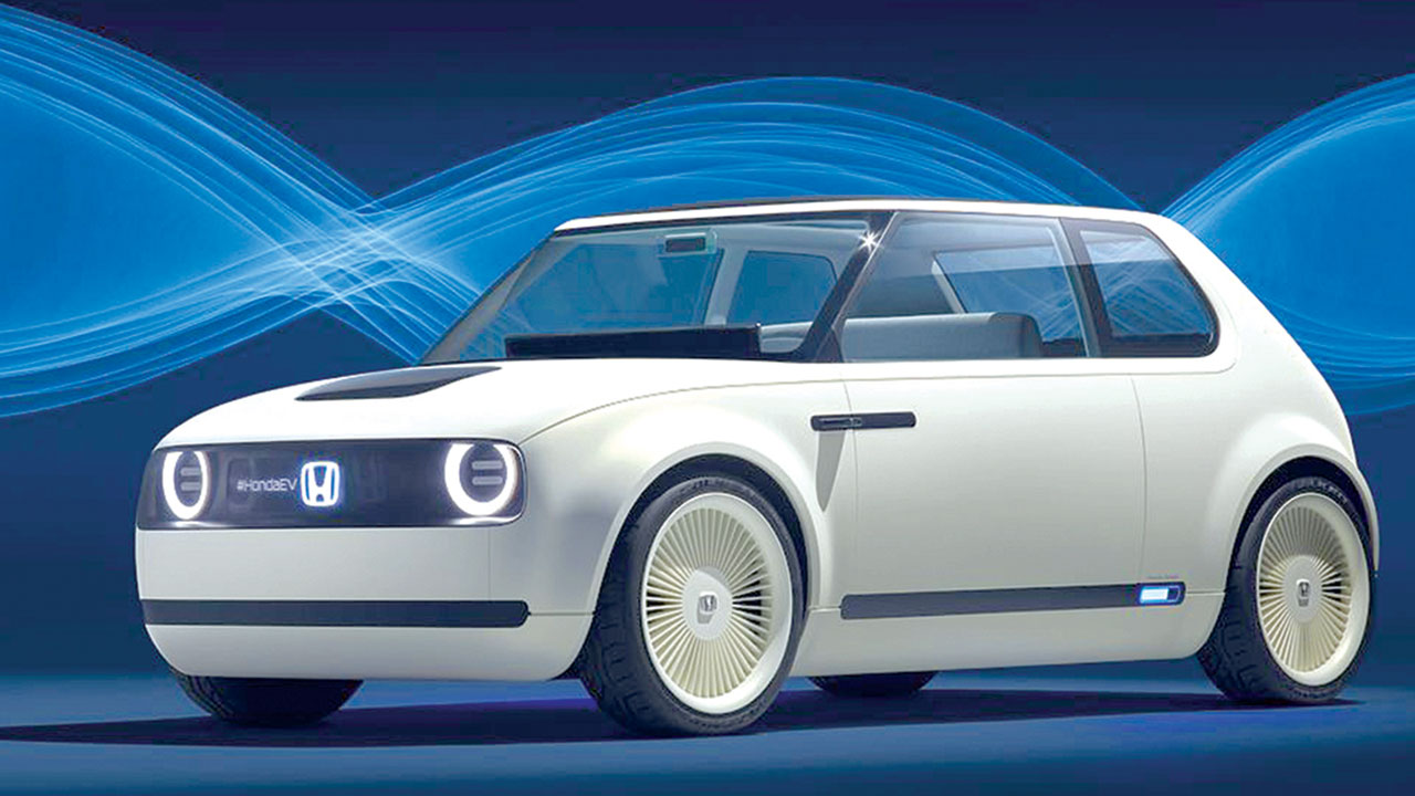 Honda Showcases Electric Car Ahead Of 2019 The Guardian