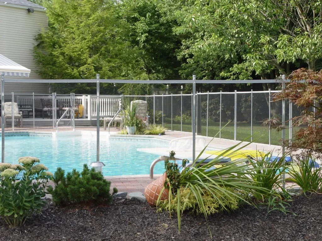 Pool Fence Pool Fence Removable Mesh Pool Fencing