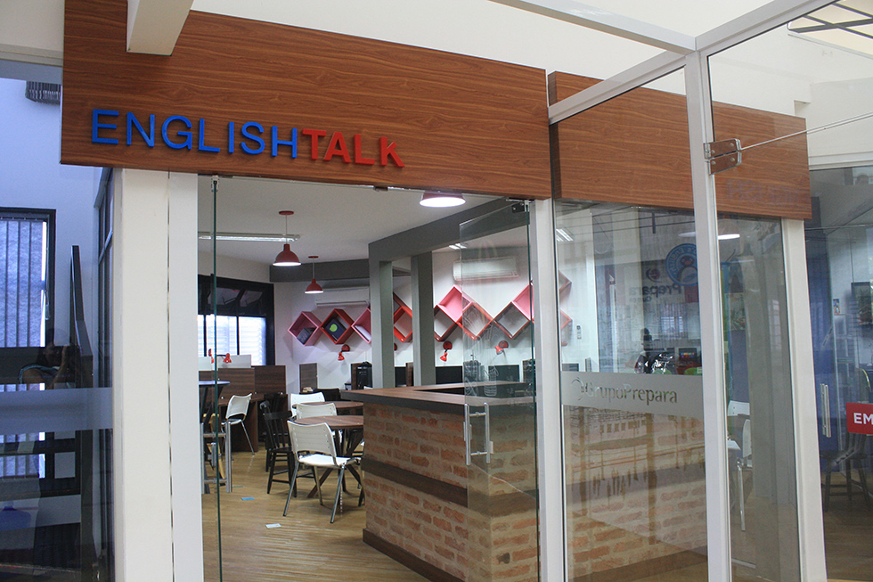 franquia english talk