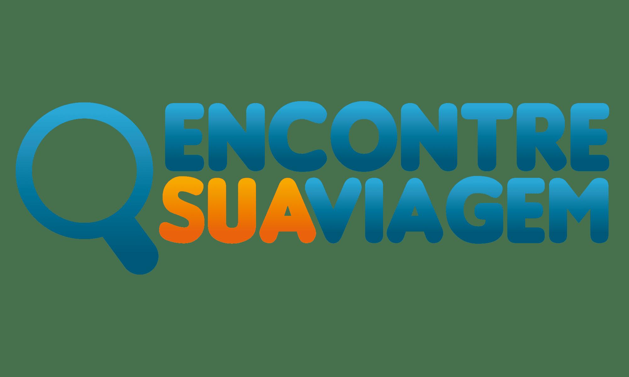 Logo Encontre Sua Viagem PNG Alta