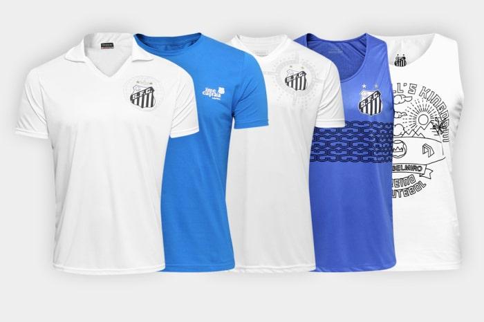 As franquias trabalham com a venda de diversos tipos de camisas 1f2340d40aa32
