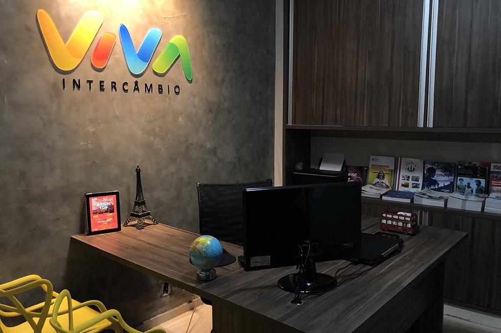 franquia Viva Intercâmbio