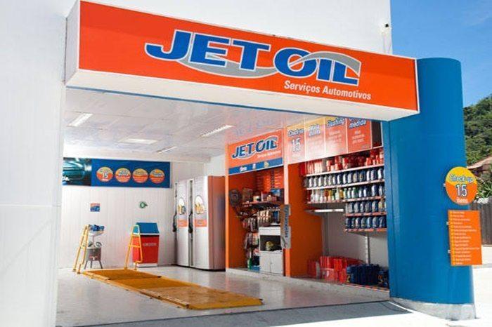 maiores franquias do Brasil - jet oil