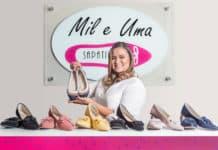 Renata Marcolino, criadora da Mil e uma Sapatilhas